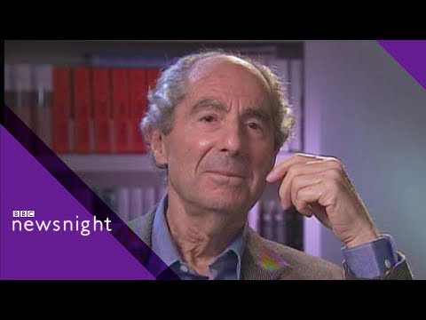 Philip Roth: 'Work is my joy and my burden' – Newsnight Archives