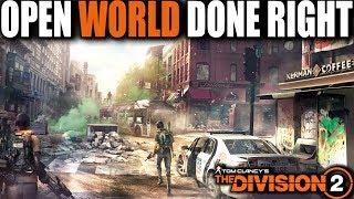 THE DIVISION 2 OPEN WORLD DONE RIGHT.... IMPRESSIVE, BEAUTIFUL & FUN