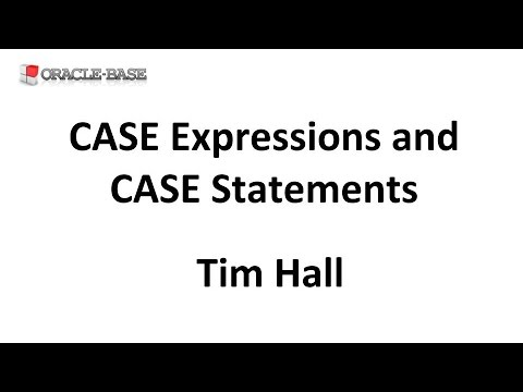 CASE Expressions and CASE Statements