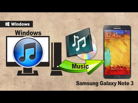 How to Sync Galaxy Note 3 with iTunes? How to Transfer Music from iTunes to Galaxy Note 3 / 4?