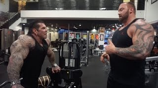"""A DAY WITH THOR """"THE MOUNTAIN"""" - 6"""
