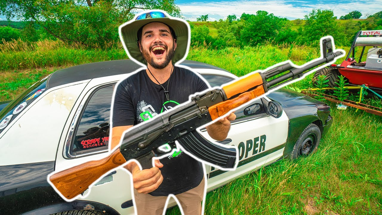 I Bought a REAL AK47 from the AUCTION!!! (Will It Work?)