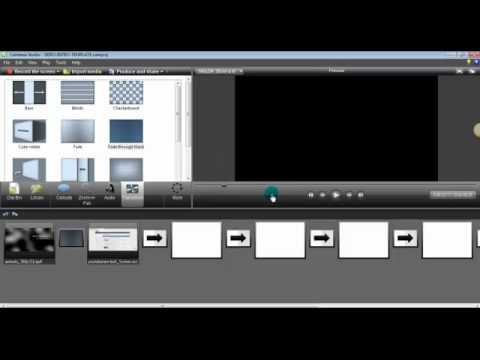 Camtasia Transitions | Editing With Camtasia | How To Use The 'Fade Through Black' Feature