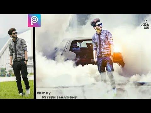 picsart car editing, picsart background change, picsart editing, how to edit photo in picsart app,