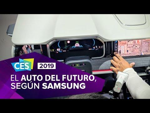Samsung cambia los instrumentos del auto por pantallas OLED inteligentes