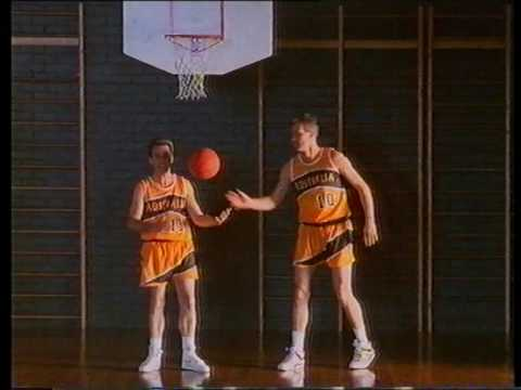 Andrew Gaze in drink alcohol in moderation advert mid 90's