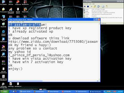 window xp activation all window activation.avi