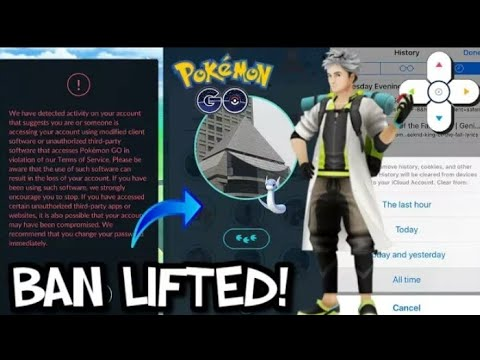How to get unshadowBanned in Pokemon Go | Remove all bans in Pokemon Go | No more Bans!