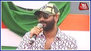 Jai Ho: Independence Day Celebrations At Attari Wagah Border With Ajay Devgan