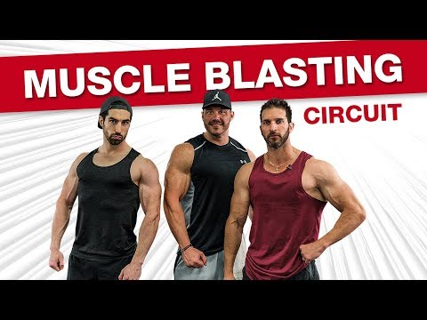 PUMPED UP Shoulder And Bicep Workout For Mass! (DUMBBELLS ONLY!)
