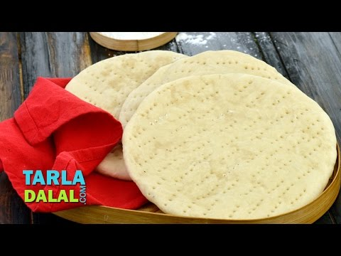 Basic Pizza Base, Homemade Pizza Base Recipe in Oven by Tarla Dalal