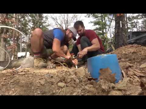 Accessing your water meter to create water supply line