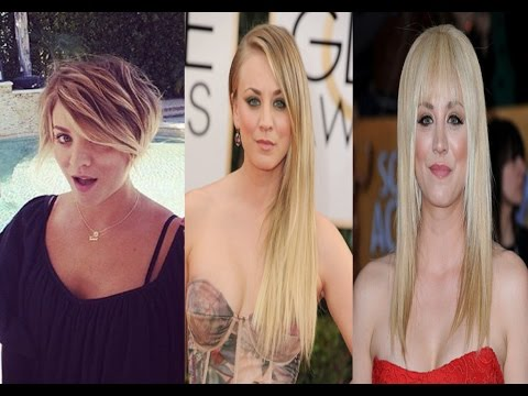 Kaley Cuoco Haircut Styles - 2016 - Celebrity News