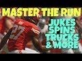 HOW TO RUN THE BALL IN MADDEN 19! TIPS TO CREATE RUNNING LANES, CONTROL BLOCKERS, JUKES SPINS & MORE