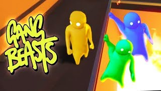 HE PUSHED THEM INTO THE PIT! (The Pals Gang Beasts)