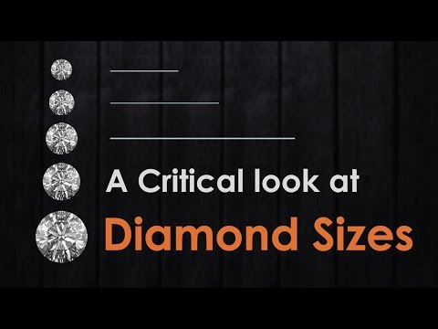 A Critical look at Diamond Sizes