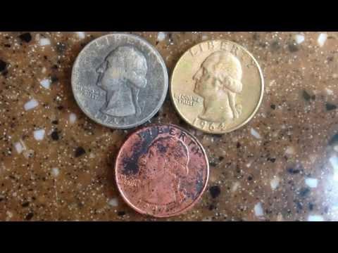 How to Turn a silver quarter into a Gold quarter