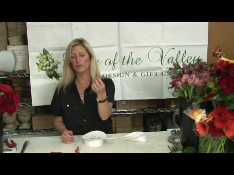 Wedding Flowers & Floral Arrangements : How to Make a Crystal Bead Bridal Bouquet