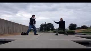 Epic Fight Scene With The Canon Rebel T2i