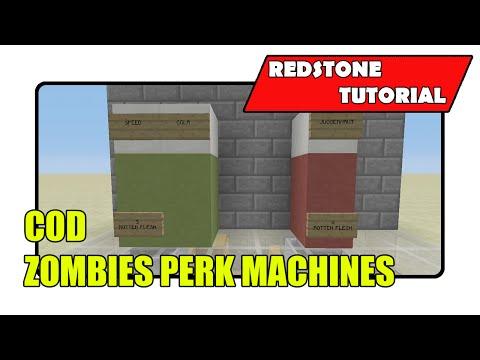 COD Zombies Perk Machines (Minecraft Xbox TU25/CU14/PlayStation CL1.17)