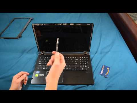 Laptop screen replacement / How to replace laptop screen Acer Aspire V5 572G
