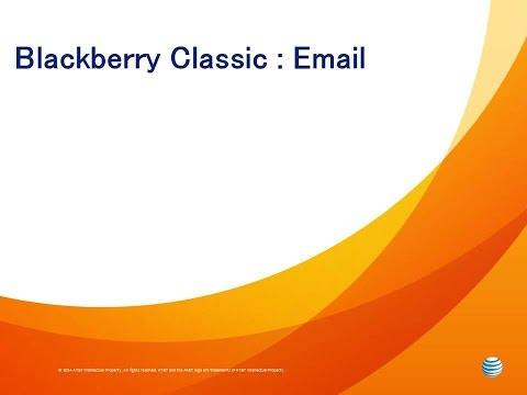 Blackberry Classic  :  Email