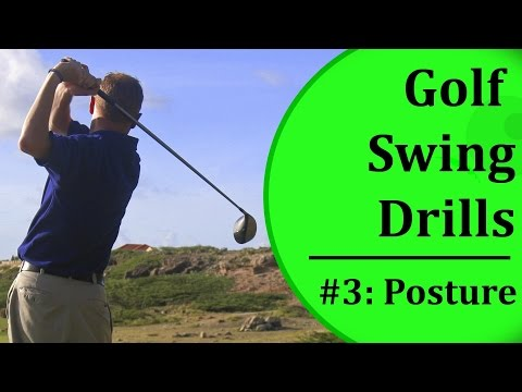 Easy Golf Swing Drills - #3: Posture | Learn-To-Golf.com