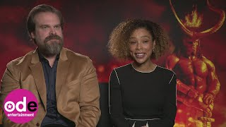 Hellboy: Sophie Okonedo says David Harbour looks exactly like the movie character 'in real life'