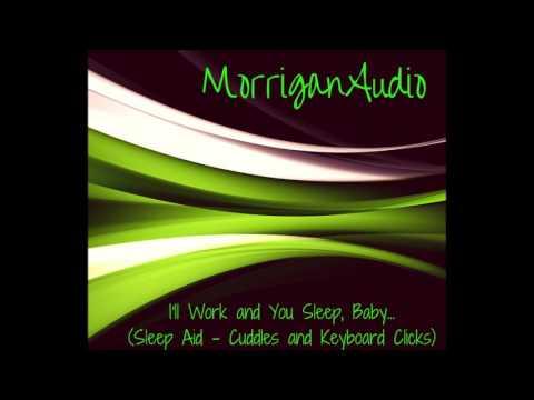 ASMR Girlfriend Roleplay: I'll Work and You Sleep, Baby [Sleep Aid] [Keyboard Clicks] [Cuddles]