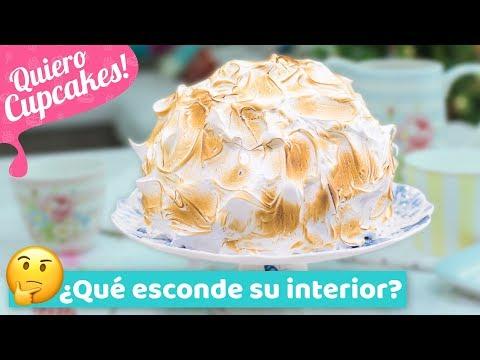 TARTA ALASKA | con merengue suizo tostado | Quiero Cupcakes!