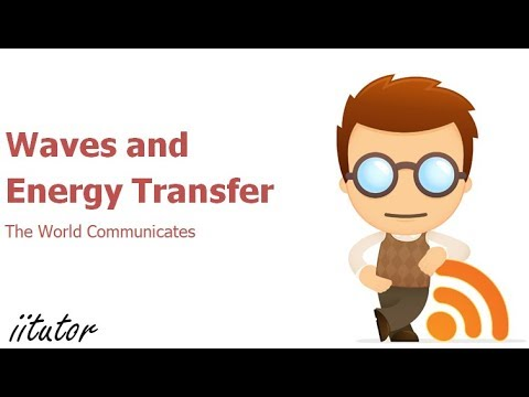 √ Waves and Energy transfer - World Communicates | iitutor