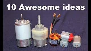 Download 10 Awesome Useful Things From DC Motor - DIY Electronic Hobby Video