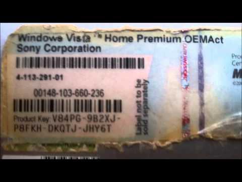 Windows Vista Home Premium OEM Key