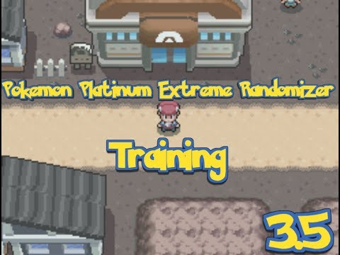Pokemon Platinum Extreme Randomizer Episode 3.5 Live - Training