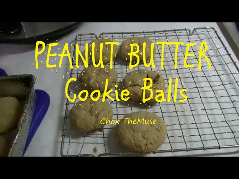 Peanut Butter Balls - Soft and Chewey Gluten Free