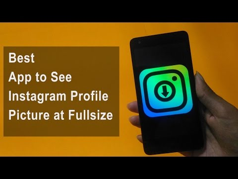 Easy Trick to see Instagram Profile Picture