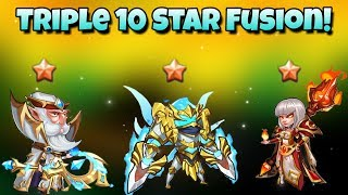Idle Heroes - Double 10 Star Fusion! Walter and Heart Watcher 10 Star!