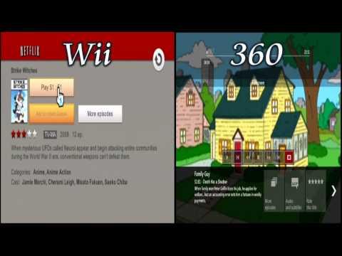 Netflix: 2012 Wii Vs 360 Which Do You Prefer ?