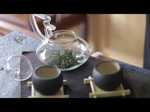 Teasenz® Glass Teapot: Loose Leaf Tea Brewing (w Chinese Tea Music)