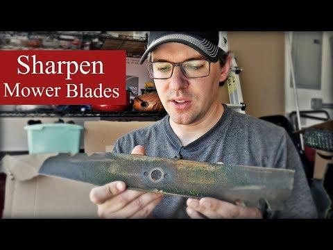 How I Sharpen Lawn Mower Blades