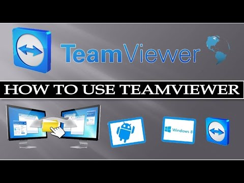How to Use Team Viewer?