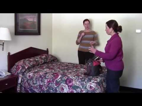 Performing a Hotel Bed Bug Check