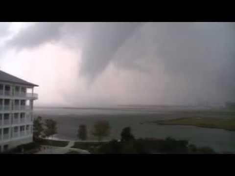 Ocean City MD Waterspout/Tornado