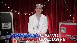 Cool Scientist Nick Uhas Chats About His AGT Experiments - America