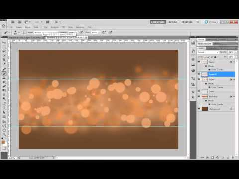 How to create a Abstract Background in Adobe Photoshop CS5