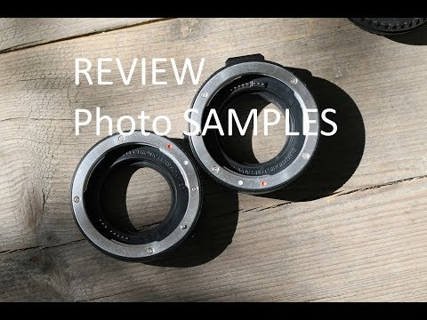 REVIEW - Macro Extension Tube Set CANON 50mm