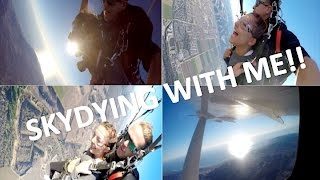 SKYDIVE WITH ME!