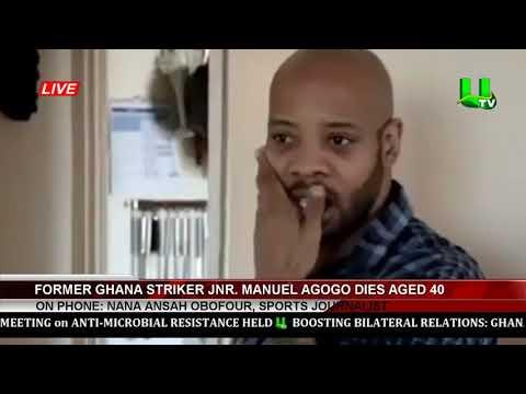 Xxx Mp4 Ex Ghana Star Junior Agogo Dies At The Age Of 40yrs 3gp Sex