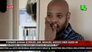 Ex-Ghana Star Junior Agogo Dies At The Age Of 40yrs