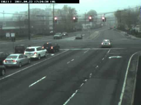 Suffolk County Red Light Camera... How NOT to go through a red light